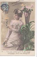 Femmes (Fantaisie) - Car J'ai Distingué Le Lys Jaune - Fleurs - Frauen