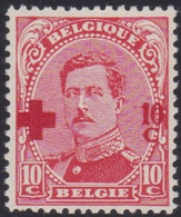 Belgie   .   OBP  .    153       .   **    .   Postfris     .  /  .   Neuf  SANS Charnière - 1918 Red Cross