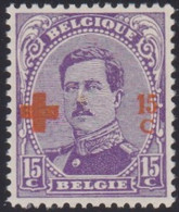 Belgie   .   OBP  .    154       .   **    .   Postfris     .  /  .   Neuf  SANS Charnière - 1918 Red Cross
