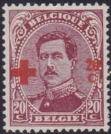 Belgie   .   OBP  .    155  (2 Scans)       .   **    .   Postfris     .  /  .   Neuf  SANS Charnière - 1918 Red Cross
