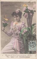 Femmes (Fantaisie) - Bouquet Triste - Un Souci C'est Chagrin D'Amour - 1 - Frauen