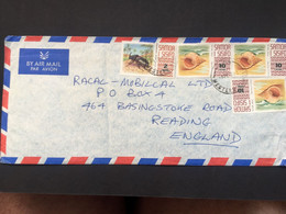 SAMOA 1973 Air Mail Cover To Reading UK - Samoa