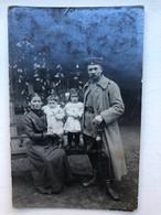 Photo Carte Deutsche Soldat Militair Uniform Sabel - Oorlog 1914-18