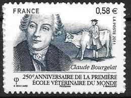 France 2011 Adhésif N° 565 Neuf école Vétérinaire De Lyon Cote 4 Euros - Sellos Autoadhesivos