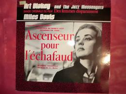 LP33 N°8672 - ASCENSEUR POUR L' ECHAFAUD - ART BLAKEY & THE JAZZ MESSENGER & MILES DAVIS - MONO 812 107-1 - GRAND ALBUM - Jazz