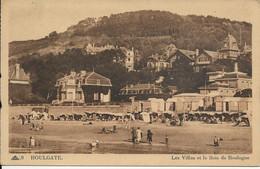 14- HOULGATE Les Villas Et Le Bois De Boulogne - Houlgate