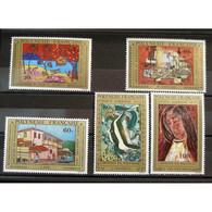 Polynésie Française, Poste Aérienne N°98-102 N** Cote 55€ - Unused Stamps