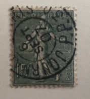 """Oblitérations Spéciales France 1907 """"Journaux"""" - Gebraucht"""
