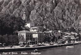 Italië - Lombardije - Lago Di Garda - Limone - Lungolago - Zwart/wit - Gebruikt - Andere Städte