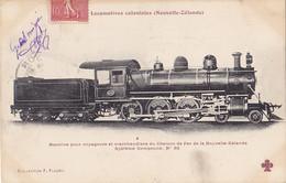 Trains (Chemins De Fer) - Locomotives Coloniales - Nouvelle Zélande - 30 - Eisenbahnen