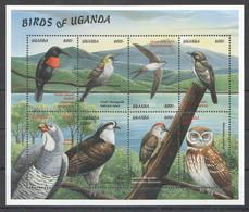 H070 UGANDA FAUNA BIRDS OF UGANDA 1KB MNH - Other