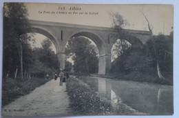 Carte Postale Athies Le Pont Du Chemin  De Fer Sur La Scarpe - Andere Gemeenten