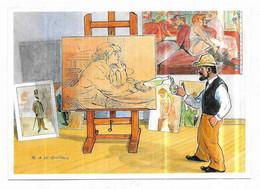 Albi Toulouse-Lautrec Vu Par Les Humoristes Dessin De : A. Le Guilloux - Albi