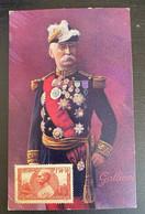 Carte Postale Couleur Général Gallieni - Weltkrieg 1914-18