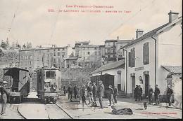 Saint Laurent De Cerdans Arrivée Du Tram  Gare - Unclassified