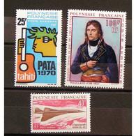 Polynésie Française, Lots, N**, Cote 193€ - Collections, Lots & Series