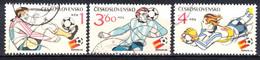 Tchécoslovaquie 1982 Mi 2648-50 /Yv 2470-2), Obliteré - Usados
