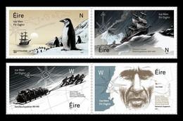 Ireland 2021 Mih. 2387/90 Antarctic Exploration. Ships. Penguins MNH ** - Ongebruikt
