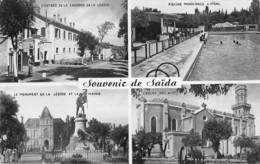 Saïda (Algérie) - Multivues - Souvenir - Saida