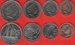 Cayman Islands Set Of 4 Coins: 1 - 25 Cents 2008 UNC - Cayman Islands