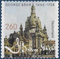 Michel 3224 - 2016 - 350. Geburtstag Von George Bähr - Frauenkirche Dresden (ohne Gummi *) - Unused Stamps