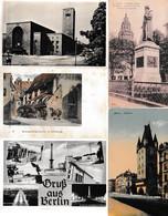 N 8  Lot 100 CPA Différentes D Allemagne - 100 - 499 Cartoline