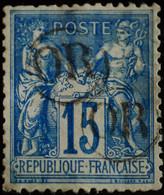 -Sage N°101 Type II  Ob   OR  ( Cachet Du Facteur ) - 1876-1898 Sage (Type II)