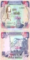 Jamaica Pick-Nr: 73c Gebraucht (III) 1995 50 Dollars - Jamaica