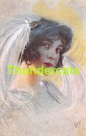 CPA ILLUSTRATEUR  FEMME ARTIST SIGNED GLAMOUR CARD LADY WOMAN - Otros Ilustradores