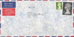 Groot Brittannie Luchtpostbrief 1966 Met 2 Zegels (1129) - Briefe U. Dokumente