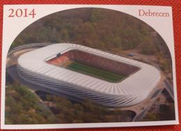 Debrecen Stadium Cartolina Stadio Postcard Stadion AK Carte Postale Stade Estadio Stadium - Calcio