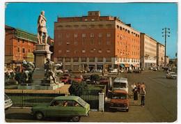 LIVORNO - PIAZZA MICHELI - MONUMENTO AI QUATTRO MORI - AUTOMOBILI - CARS - Vedi Retro - Livorno