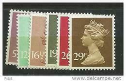 1982 MNH GB, UK, Machin, Postfris - Neufs