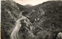 LE PERTHUS  Lacets De La Route Du Perthus Et Gorges De Rome RV  Timbres Espage 19ta + 25 Cent + Timbres Taxe 20F +4f - Sin Clasificación