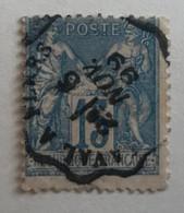 France 1899 Belle Oblitération Convoyeur Sur Sage - 1898-1900 Sage (Tipo III)