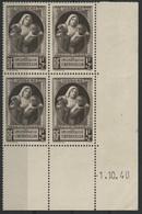 N° 465 Cote 10 € Coin Daté Du 1/10/40 Neuf ** (MNH) Voir Description - 1940-1949