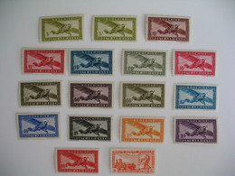 Indochine Stamps French Colonies   N° PA 15 + 24 à 38 Neuf */**  à Voir  Tous Neuf ** Sauf 24 /24a/31/34 + Rousseur - Unused Stamps