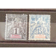 Sainte Marie De Madagascar, N°1 Et 6, N* Cote 39.50€ - Unused Stamps