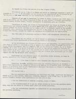 Guerre D'Algérie Tract Conseil Ordre Des Avocats à La Cour D'appel D'Oran Exaction Fait Par Forces Française Cessez Feu - Historical Documents