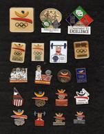 Lot 19 Pin's JO BACELONA 92 - Olympic Games