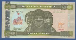 ERITREA - P.9a – 50 Nakfa 2011 - UNC - Eritrea