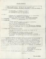 Guerre D'Algérie Tract Je Suis Français Contre Autodetermination Contre Amputation D'une Partie De La France - Historical Documents