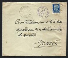 ITALIE 1940: LSC De Casamicciola Pour La Suisse Avec Censure Italienne - Marcofilie