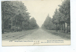 A 12 Bourg Leopold Camp De Beverloo Camp De Beverloo Vue Sur La Chaussée D'Hechtel - Leopoldsburg (Camp De Beverloo)