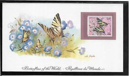 Thème Papillons - Algérie - Document - TB - Farfalle