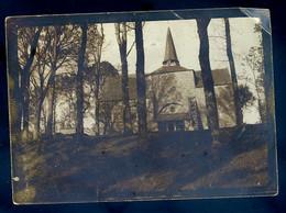 Photo Originale Circa 1920 La Chapelle De Saint Leonard Près De Guingamp    AVR21-15 - Ohne Zuordnung
