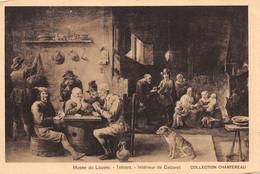 Teniers (Musée Du Louvre) - Intérieur De Cabaret - Schilderijen