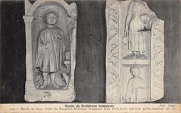 Sens (Musée De Sculpture Comparée) - Musée - Stèle Du Forgeron Bellicus - Sculptures