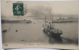 2222 - TOULON - Départ Du Courrier De Corse - Toulon