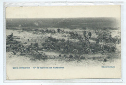 Bourg Leopold Camp De Beverloo Cie Cyclistes Aux Manoeuvres - Leopoldsburg (Camp De Beverloo)